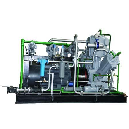 W型无油往复活塞式压缩机